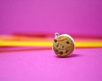 Ice Cream Sandwich Charm- Chocolate Chip Cookie