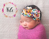 SALE - Baby Girl - Baby Headbands - Baby Girl Headband - Newborn Headband - Infant Headband - Flower Headband - Baby Accessories