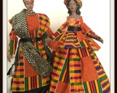 African American Art Doll Couple Black History Month Celebration Home Decor