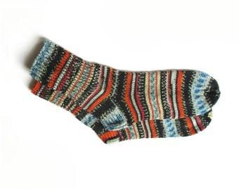 Hand knit socks for women, knit socks, wool socks women