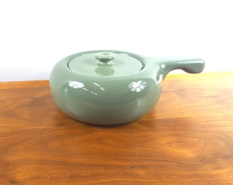 Russel Wright Seafoam Green Covered Casserole Bowl