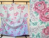 Japanese kimono with rose...