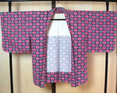 Japanese Haori pink rose,...