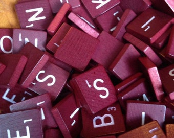 174 Deluxe Scrabble Tiles, Scrabble Tiles, DIY, Photography Prop, Scrabble Photography Prop