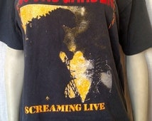 Vintage 80s Soundgarden Shirt