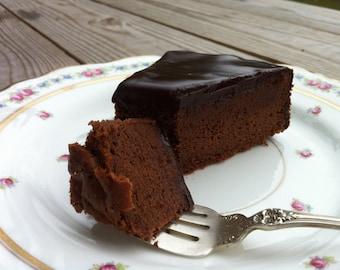 Belgian Chocolate Torte: Gluten Free, Decadent, Light, Delicious!