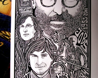 Steve Jobs Apple Poster by Posterography