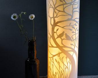 DovesTree Porcelain Lamp