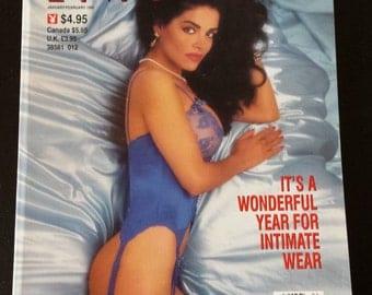 Vintage Playboy's Book of Lingerie Jan/Feb 1992