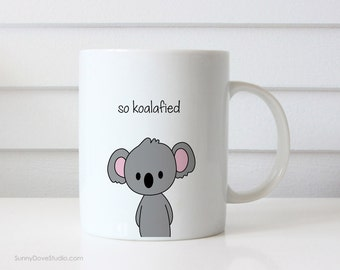 Koala Mug Congratulations Congrats Pun New Job Graduation Gift Graduating College High School Grad Graduate Quote Mugs For Her Him Friend