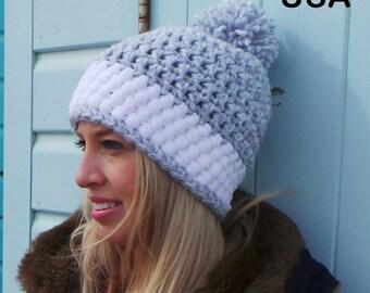 Free Crochet Pattern Bobble Hat : BOBBLE HAT PATTERN By Kerry Jayne Designs Slouchy hat