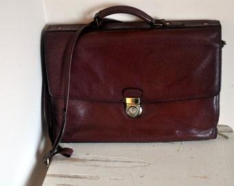 Vintage Arthur & Aston French Shoulder Bag - Stylish Leather Schoolbag