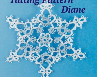 Snowflake Tatting Pattern Diane