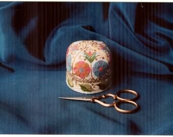 Nostalgic Needle's - Her Majesty's Night-Cap Pincushion Chart