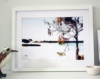 Downloadable  Beach Art, Printable Australian Landscape, Digital Print, A4, Instant Download, Minimalist Wall Art, Beach Decor, Gift for Him