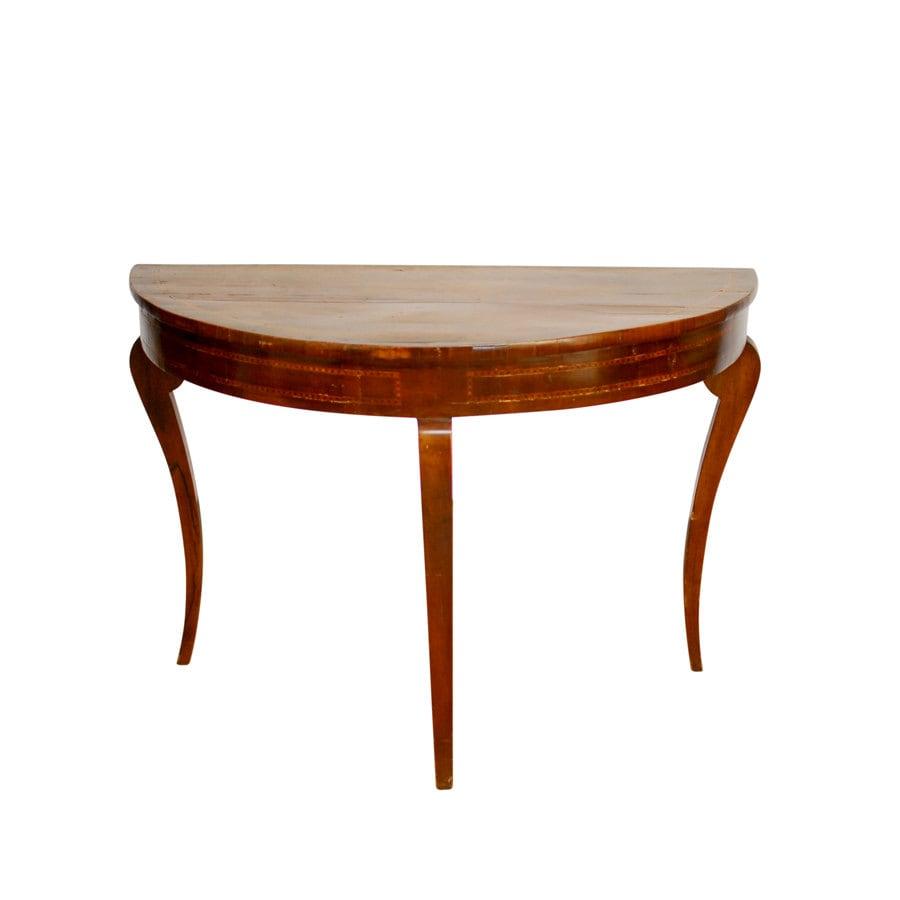 18th Century Demi Lune Table
