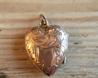 Edwardian Rose Gold Back and Front Locket