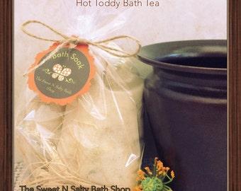Hot Toddy Soothing Bath Tea/Salt Soak-Set of Two