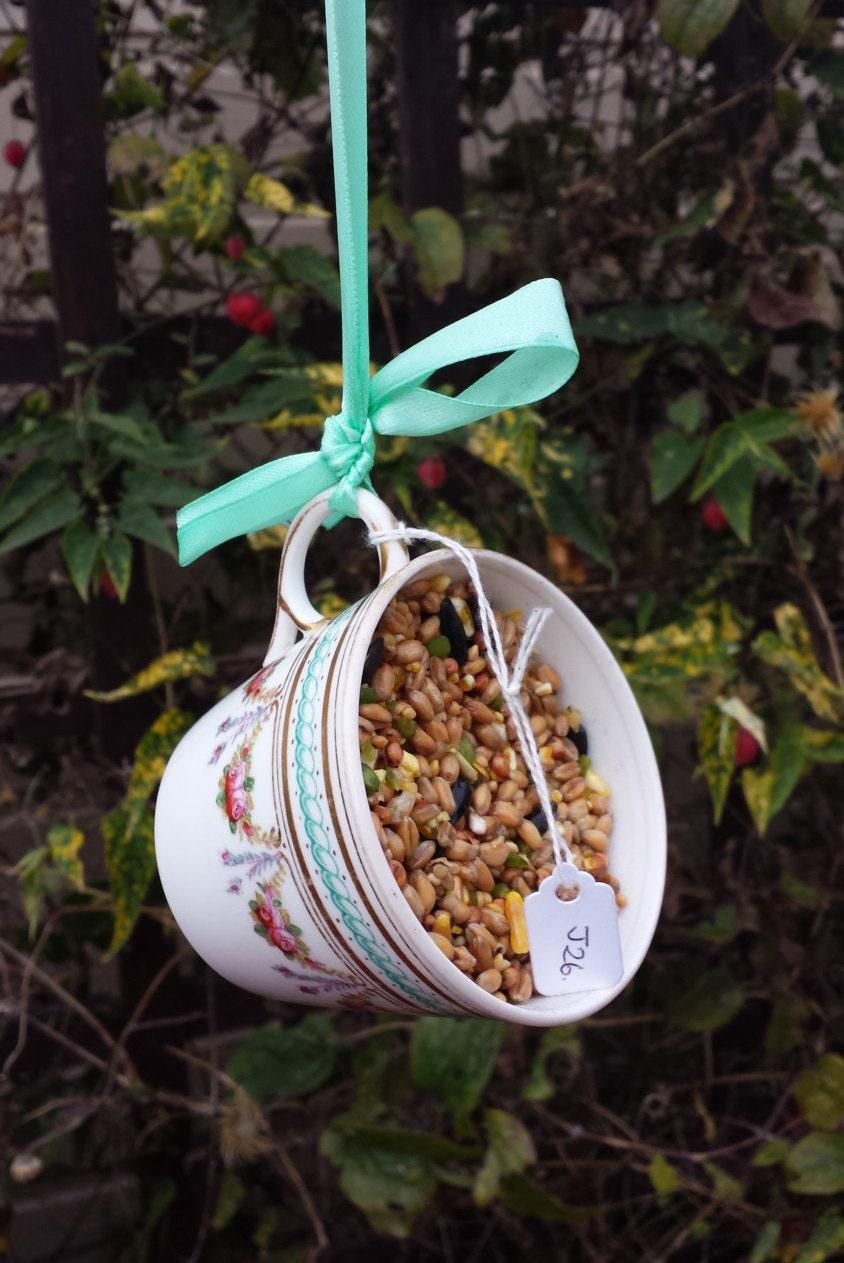 Pretty Bird Feeder Garden Decoration Gift For Her Outdoor