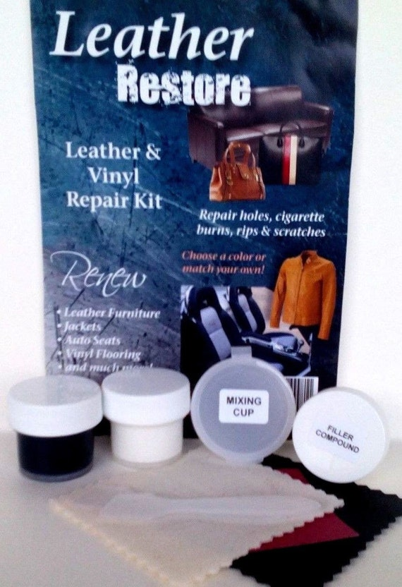 Leather Restore DIY Leather Repair Kit For by ...