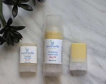 Bug Off Lotion Stick Summer Starter Set - Mosquito repelling moisturizing lotion stick