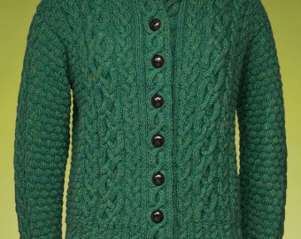 Cabled Cardigan #173 PDF knitting PATTERN ONLY