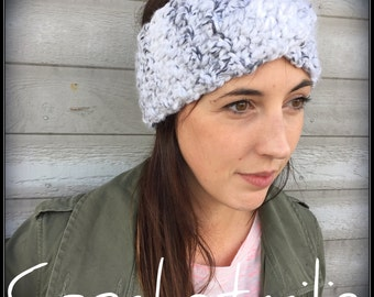 Crochet headband - Ears warmer