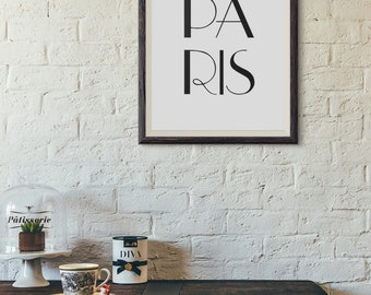 Paris Decor, Paris Art, Paris Printable, Paris Room Decor, Paris Bedroom Decor, Paris Bedroom, Paris Home Decor, Paris Print, Paris Artwork