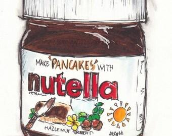 Nutella Print