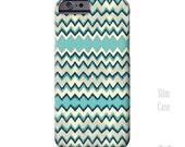 Blue Chevron, iPhone 6s Case, iPhone 6s plus Cases, Turquoise, iPhone 6 case, iPhone 6 plus case, vintage, art, note 5 Case, iPhone 5S case