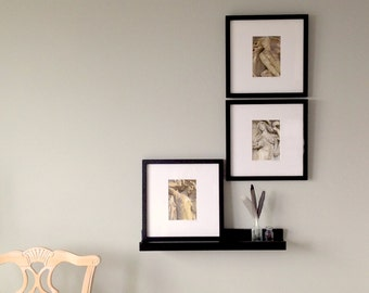 Framed Art, Gallery Wall Grouping, Custom Framed Wall Decor, Framed Photography, Square Black Framed Prints, Framed Fine Art Prints