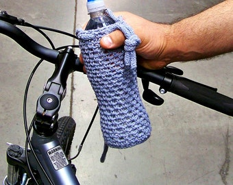 Crochet Water Bottle Cozy, Water Bottle Holder, Water Bottle Cover, Crochet Bottle Holder, Yoga Water Bottle, Crochet Water Bottle Holder