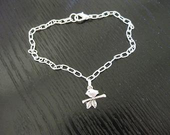 Baby Bird Ankle Bracelet