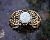 Goddess KORE VICTORIANA Cuff - Made To Order - Victorian Bracelet, Steampunk Bracelet, Cosplay Jewelry, Wedding Bracelet, Gothic Lolita,