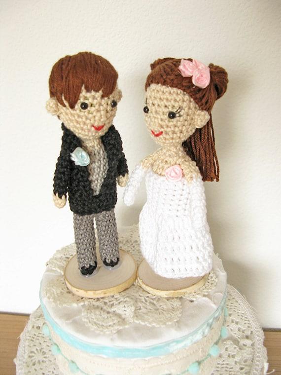 Couple Cake Topper Bride And Groom Cake Topper Custom