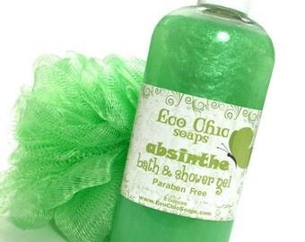 Absinthe Body Wash - Bath & Shower Gel - Paraben Free