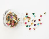 Thumb Tacks Rhinestone Push Pins Dorm Room Decor Bulletin Board Rhinestone Thumbtacks Girls Office Supplies Rhinestone Tacks / Set of 20