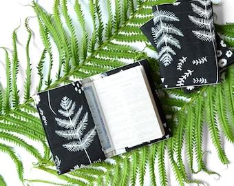 Fabric Passport Cover for Her, Travel Gift for Women, Black Passport Holder, Family Passport Case, Boho Gift for Teen, Passport Protector