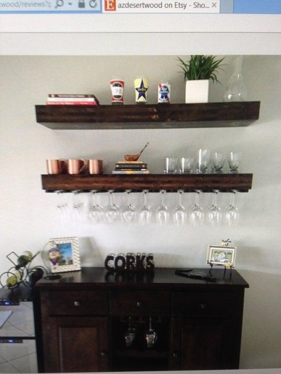 floating shelffloating shelveswine glass rack wine by
