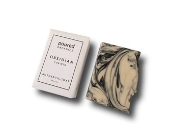 Obsidian for Men | AUTHENTIC SOAP