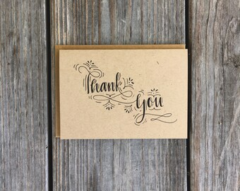 Wedding Thank You Notes, Thank You Card Set, Wedding Thank You Cards