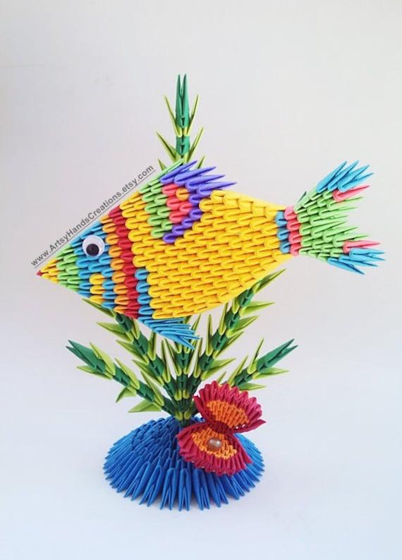 3d Origami Fish Paper Fish 3d Fish Origami Fish 3d Origami - photo#47