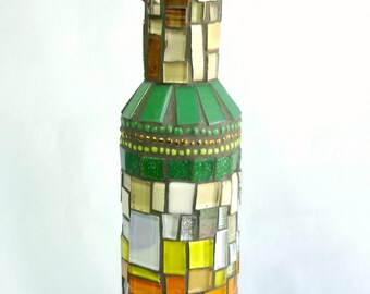 Mosaic Bottle Rainbow