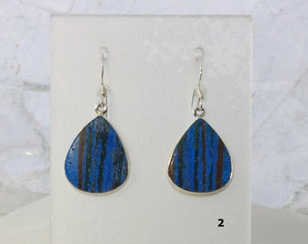 Rainbow Calsilica Earrings   Rainbow Calsilica Jewelry   Funky Earrings   Boho Jewelry   Hippie Jewelry   Funky Jewelry