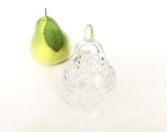Anna Hutte Echtbleikristall 24% Lead Crystal Pear Box