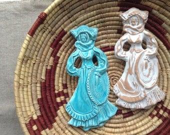 Sardinian Damsel ceramic decor