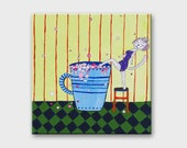 Funny bathroom art Bathroom wall decor Bathroom wall art Bathroom decor Bathroom art Funny Home decor Wall hanging Funny art Funny wall art