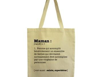 Tote Bag Relax Chill Hindbag Fair trade cotton bag