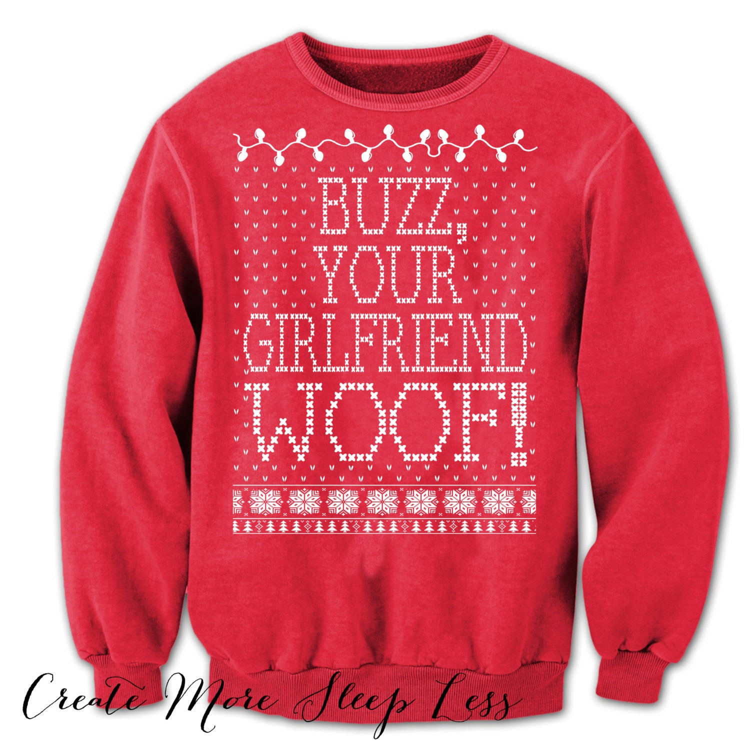 BUZZ YOUR GIRLFRIEND woof Sweater