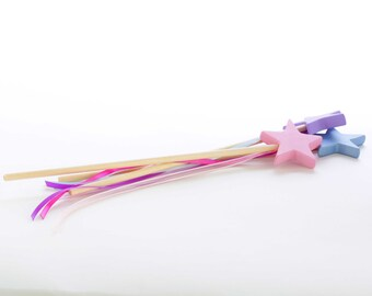 Magic Wand - Fairy Wand - Fairy Princess Wand - Star Wand